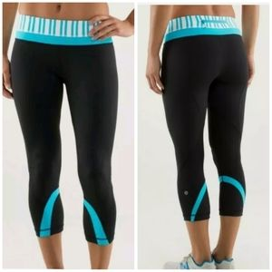 Lululemon Run: Inspire Crop II Leggings Size 8